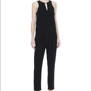 Rag & Bone Lana Jumpsuit Black size 4 as seen on